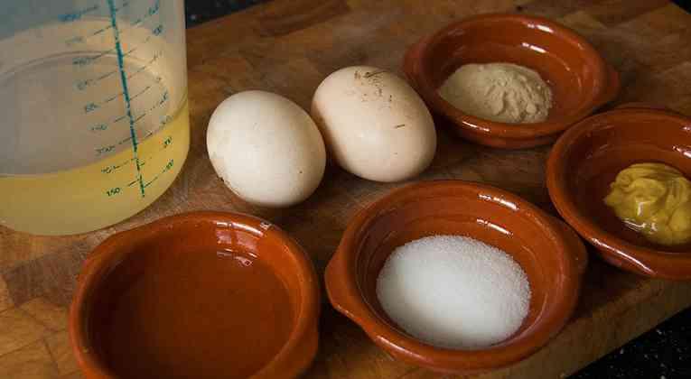Mayonaise ingrediënten