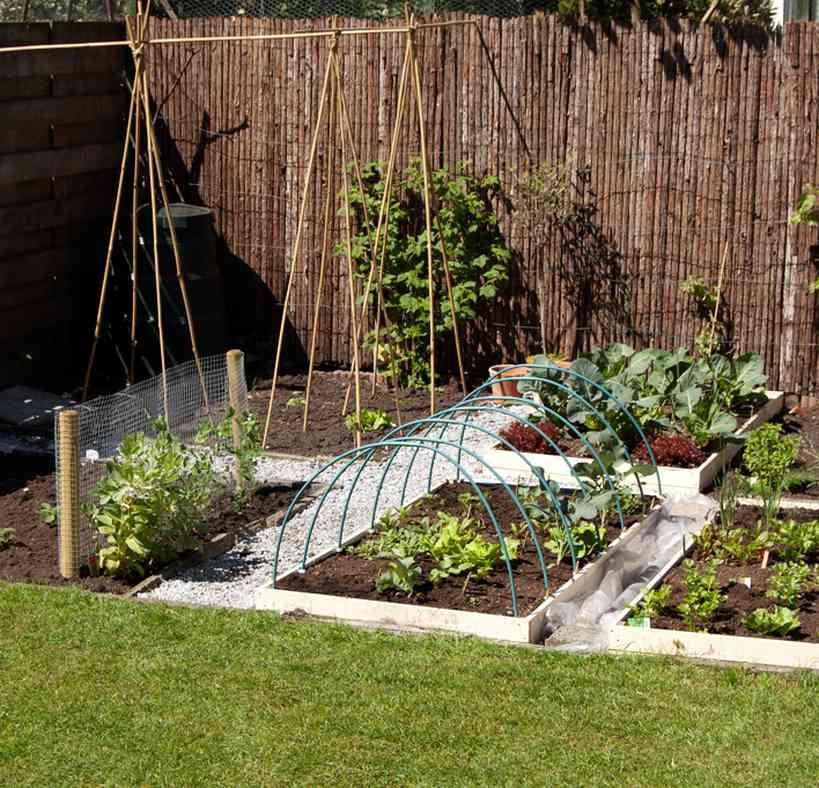 Wat is square foot gardening