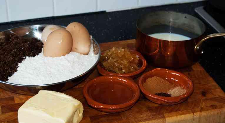 Twentse kruidkoek ingrediënten