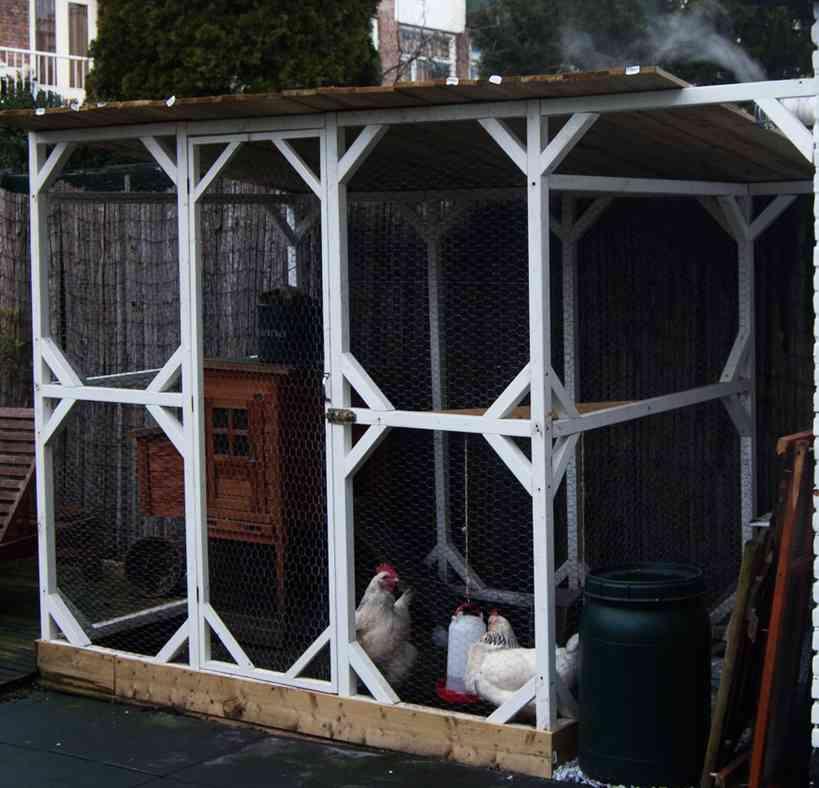 Huisvesting voor de kippen