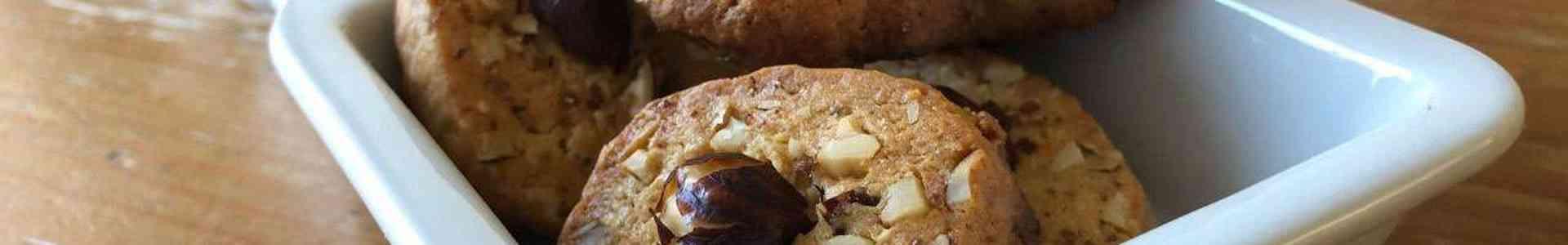 Koekjes met honing en noten